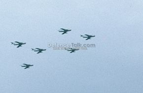 PAF F-6 Fighters - National Day Parade, March 1976