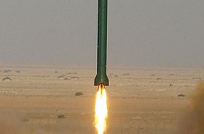 Iranian Missiles Fired during war games