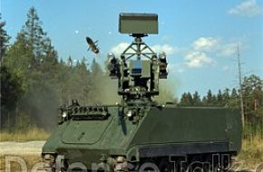 Advanced Short Range Air Defence Missle System ASRAD-R mounted on M113