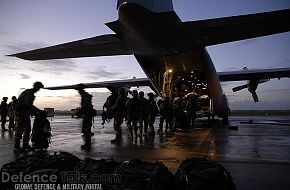 Loading C-130 Hercules - Swedish Air Force, Nordex 2006