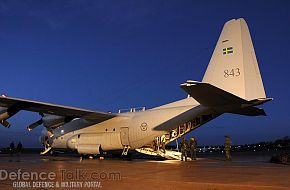 C-130 Hercules - Swedish Air Force, Nordex 2006