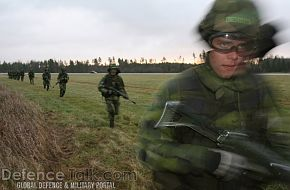 Swedish soldiers - Swedish Air Force, Nordex 2006