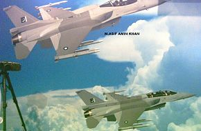 F-16 Block-52 PAF - IDEAS 2006, Pakistan