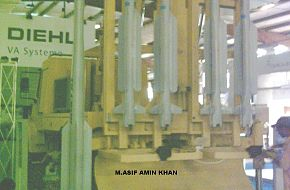 IRST SAM Launcher - IDEAS 2006, Pakistan