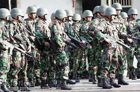 Indonesian soldiers - News Pictures