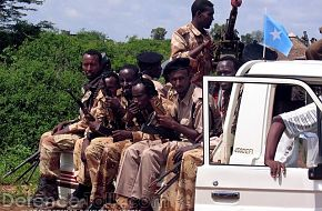 Somalia Transitional Government soldiers - News Pictures