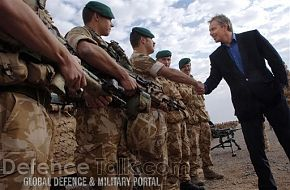 Blair Meets British Troops - News Pictures