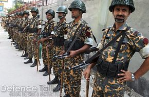 Bangladesh Rifles (BDR) security officials - News Pictures
