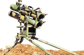 Iranian made double-barrel launcher