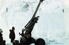 Indian artillery in Siachen