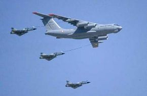 IAF Mirage 2000s refuelling