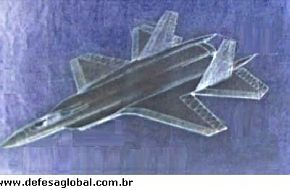 Possible design for PAK FA project