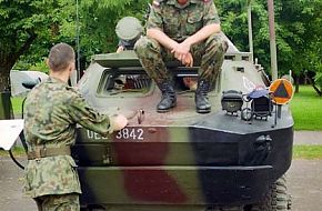 BRDM-2 Other Variants - Polish Army