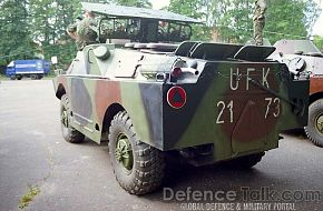 BRDM-2 with AT-3, Polish Army