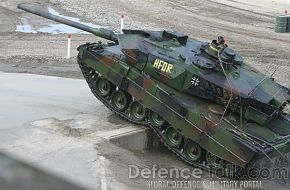 Leopard 2A6, German Army