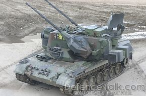 Gepard Anti-Aircraft Tank, German Army