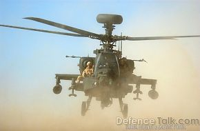 Apache Rescue, British Army - Afghanistan