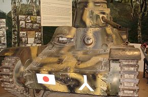Japanese Type 95 (Ha-Go) Light Tank