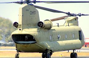 Chinook Helicopter - Aero India 2007, Air Show