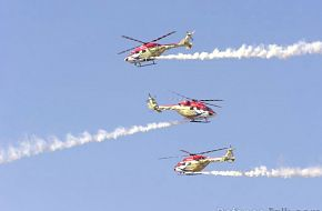 Dhruv Helicopters - Aero India 2007, Air Show