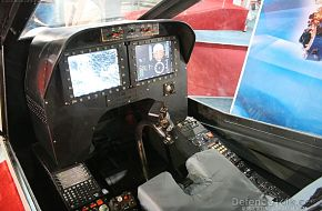 HAL LCH Cockpit - Aero India 2007, Air Show