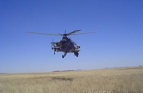 CSH-2 Rooivalk Attack Helicopter  South Africa