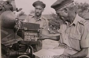Captured Indian Gun War of 1965 - Pakistan vs. India