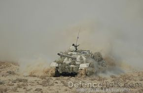 Army Tank, Pak-Saudi Armed Forces Exercise