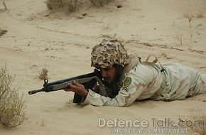 Soldier, Pak-Saudi Armed Forces Exercise