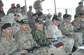 Army leadership, Pak-Saudi Armed Forces Exercise
