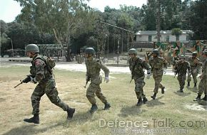 Troops - Joint Pakistani & Turkish Armed Forces Exercise