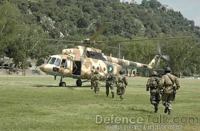 Transport Helicopter - Joint Pakistani & Turkish Armed Forces Exercise