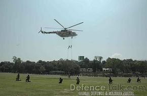 Helicopter - Joint Pakistani & Turkish Armed Forces Exercise