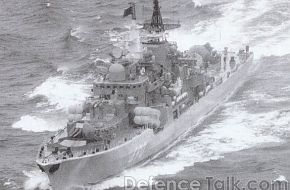 Russian Navy Destroyer