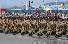 Pakistan Army Frontier Force - March 23rd, Pakistan Day