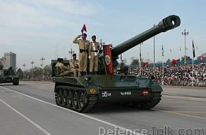 Self Propelled artillery - March 23rd, Pakistan Day