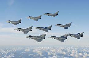 Eurofighter Typhoon - Military Fighter Aircraft Wallpaper