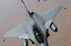 Rafales Fighters over Afghanistan