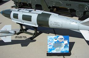 GBU-31 JDAM attached to MK-84 Bomb