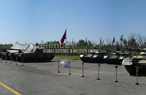 Pakistan army tanks Panorama