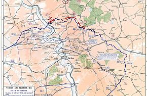 Battle of Verdun Map - World War I