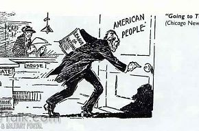 League of Nations Cartoon from the World War I