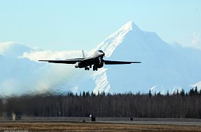 B-1B Lancer takes off - US Air Force Exercise