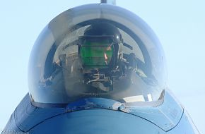 F-16 Fighting Falcon pilot - US Air Force Exercise