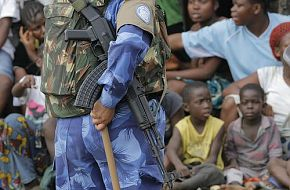Women Peacekeeping Force in Liberia - Indian Army