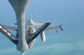 PAF F-16 Refueling