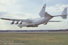 Antonov 225 - Russian Transport Aircraft