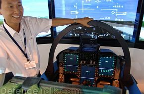 FC-1 Flight Simulator at MAKS 2007