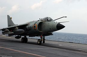 Sea Harrier - Malabar 07 Naval Exercise
