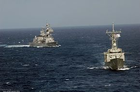 Navy Frigate & Destroyer - Malabar 07 Naval Exercise